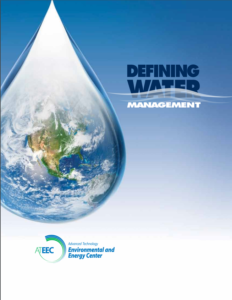 Defining Water Management Report